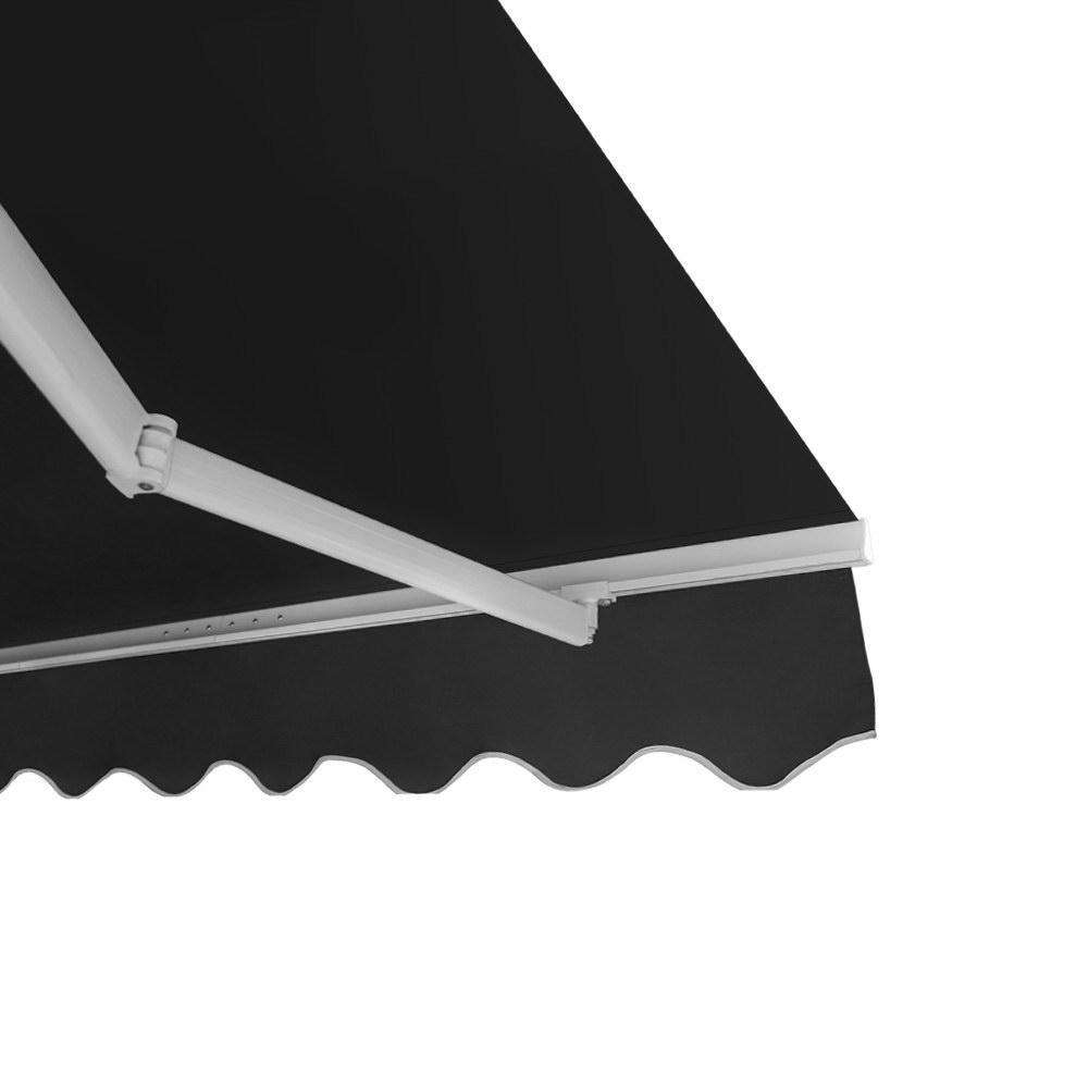 Instahut Retractable Outdoor Arm Awning 4 x 3M - Grey