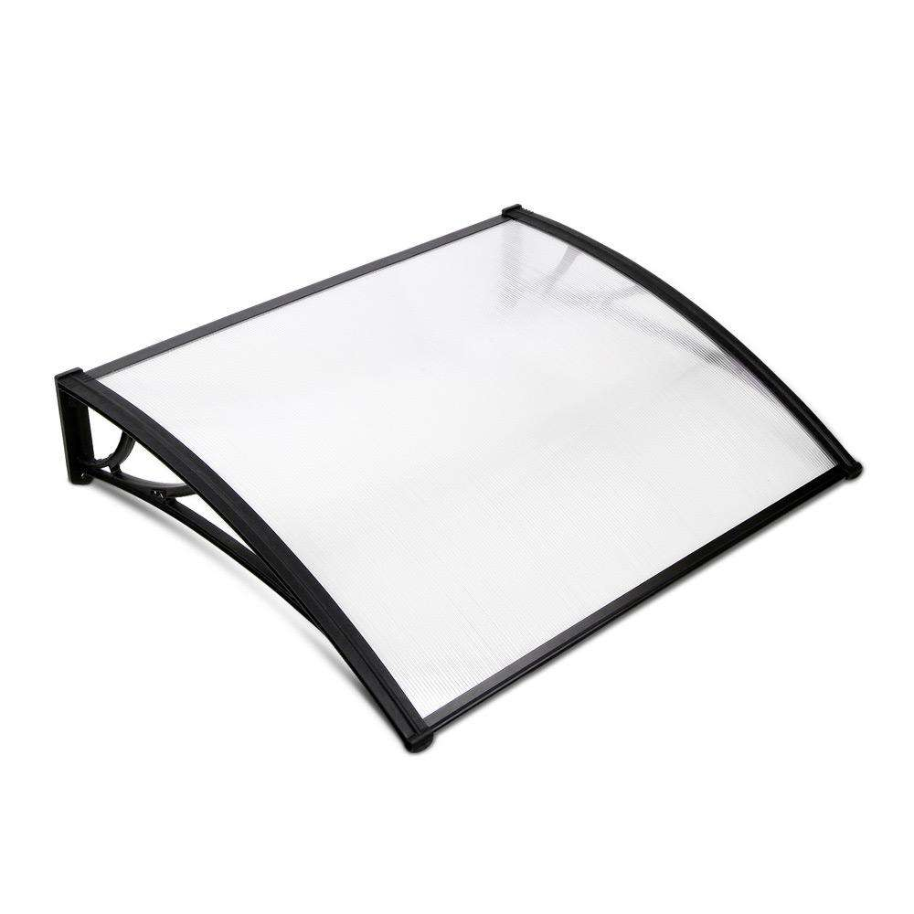 Instahut 1X1.2M Window Door Awning Canopy Rain Cover Sun Shield