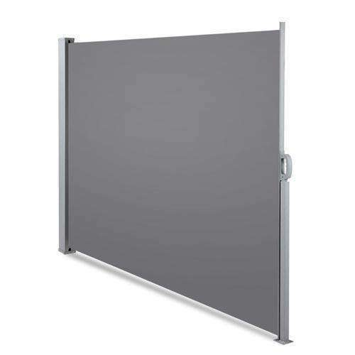 Retractable Side Awning Shade 200cm Grey - Desirable Home Living