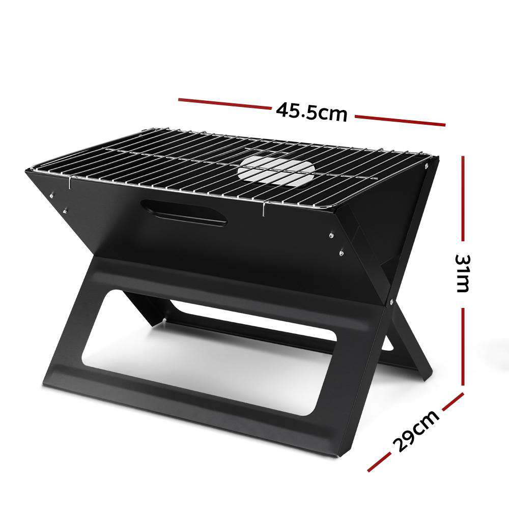 Grillz Portable Charcoal BBQ Grill