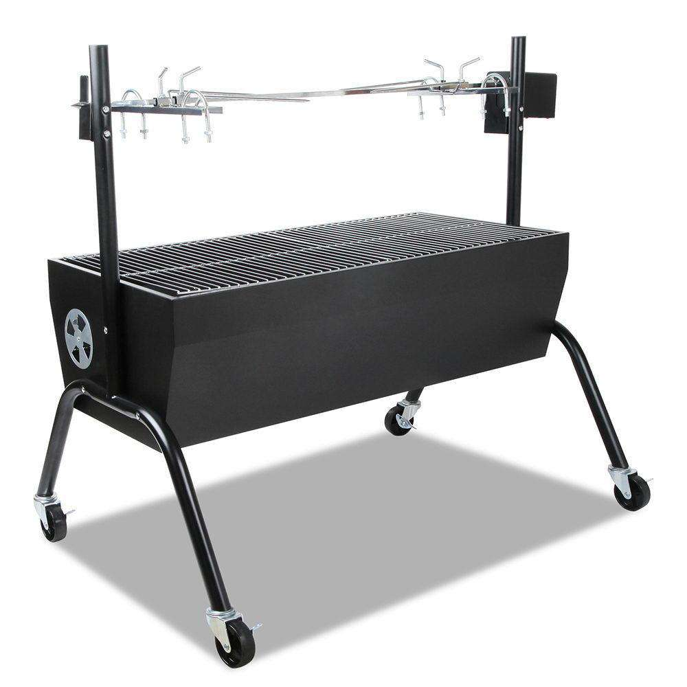 Portable Electric Spit Roaster & Rotisserie