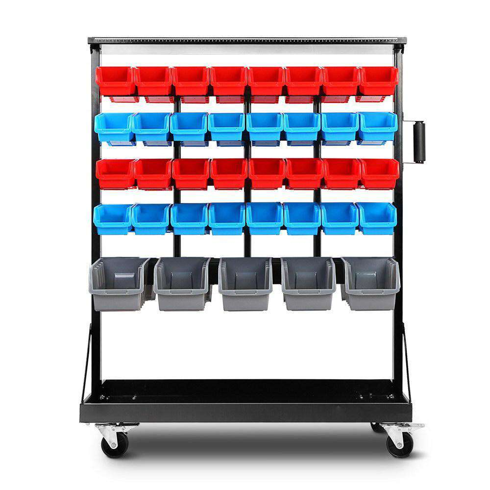 Giantz 74 Bin Dual Side Storage Shelving Racks