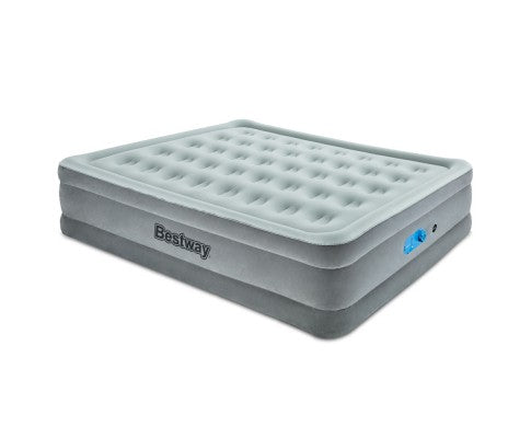Bestway Queen Air Bed Inflatable Mattress - Grey