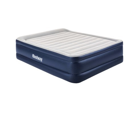 Bestway Queen Air Bed Inflatable Mattress - Blue