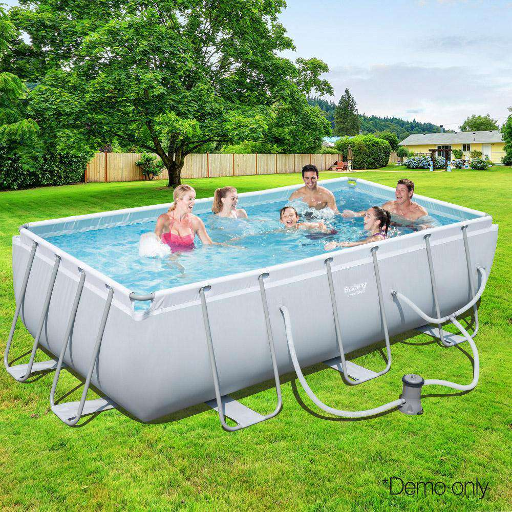 Bestway Rectangular Frame Above Ground Swimming Pool