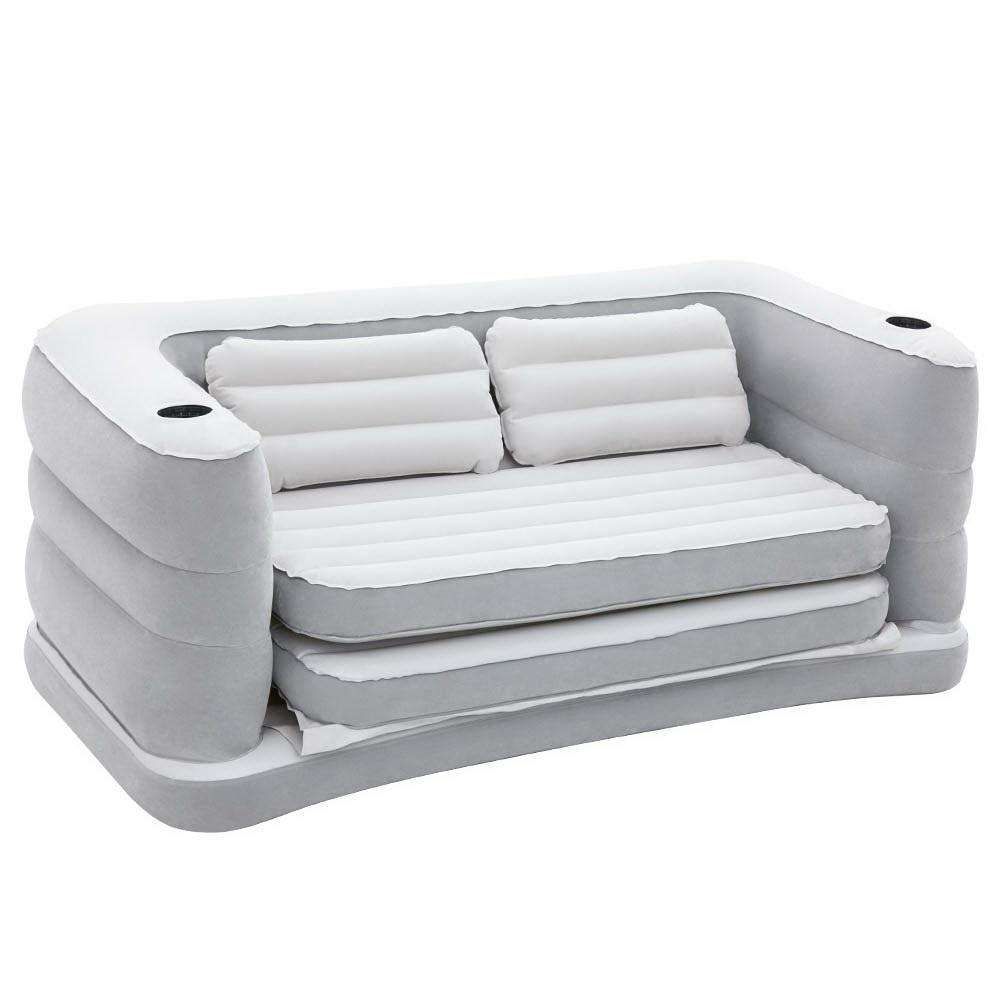 Bestway 2 in 1 Inflatable Sofa Bed - Grey