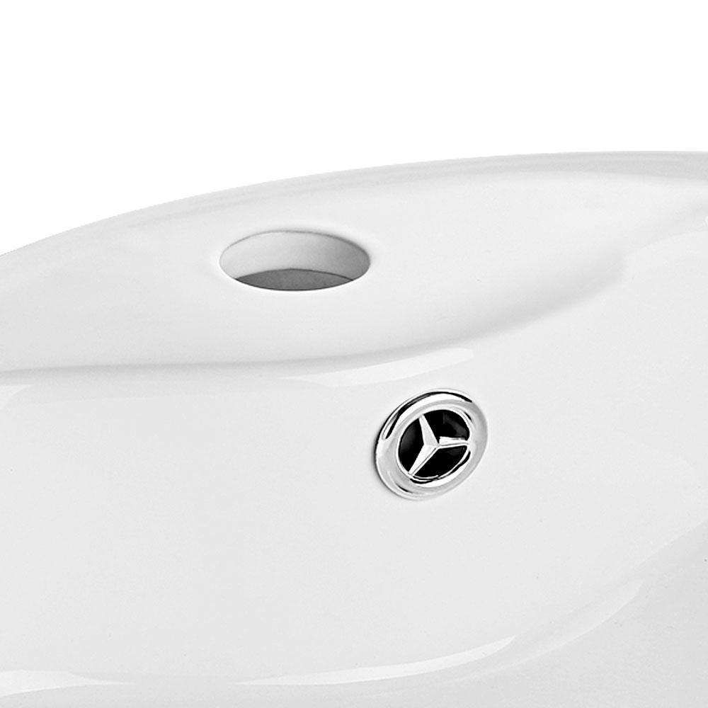 Cefito Ceramic Round Sink Bowl - White