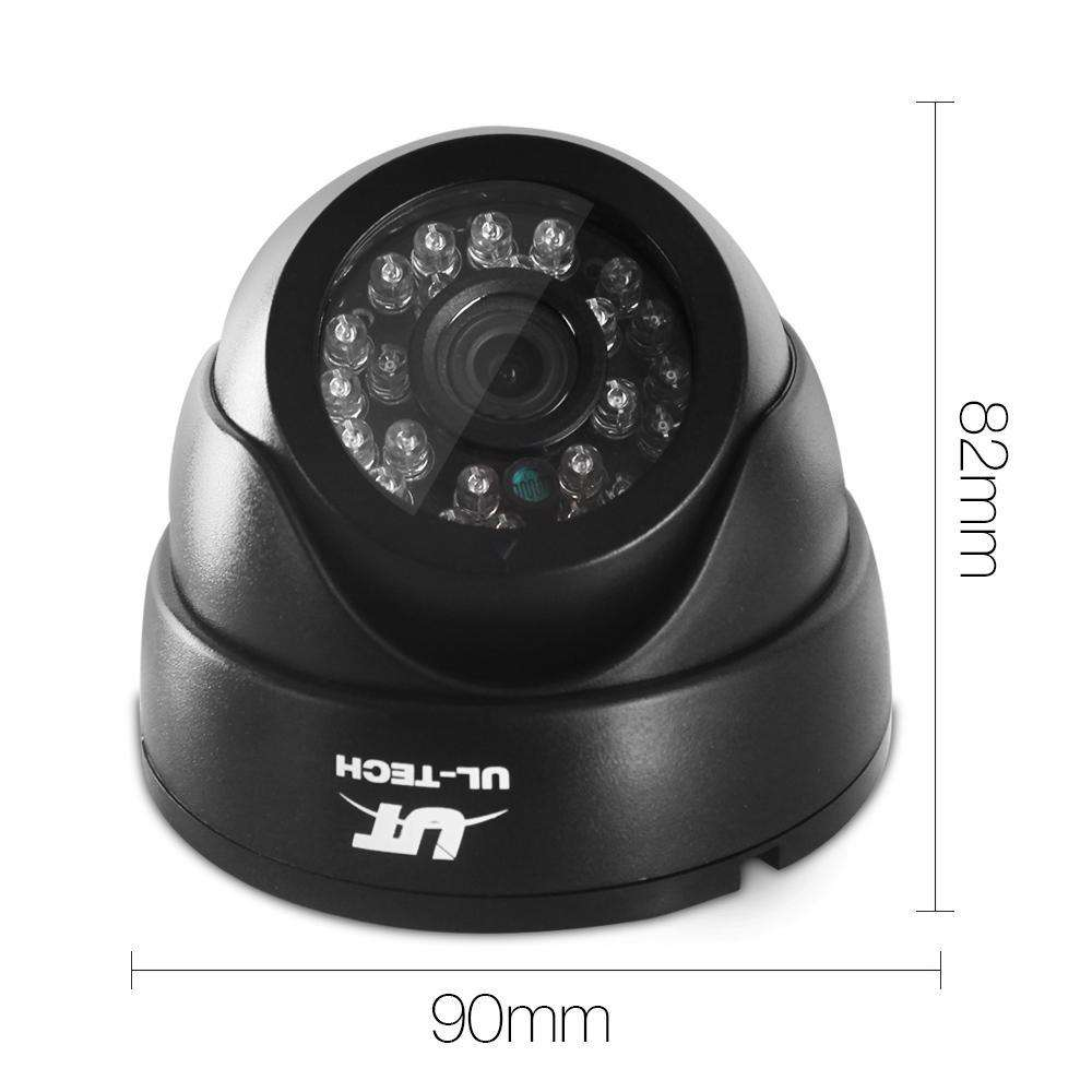 1080P Four Channel HDMI CCTV Security Camera 1 TB Black - Desirable Home Living