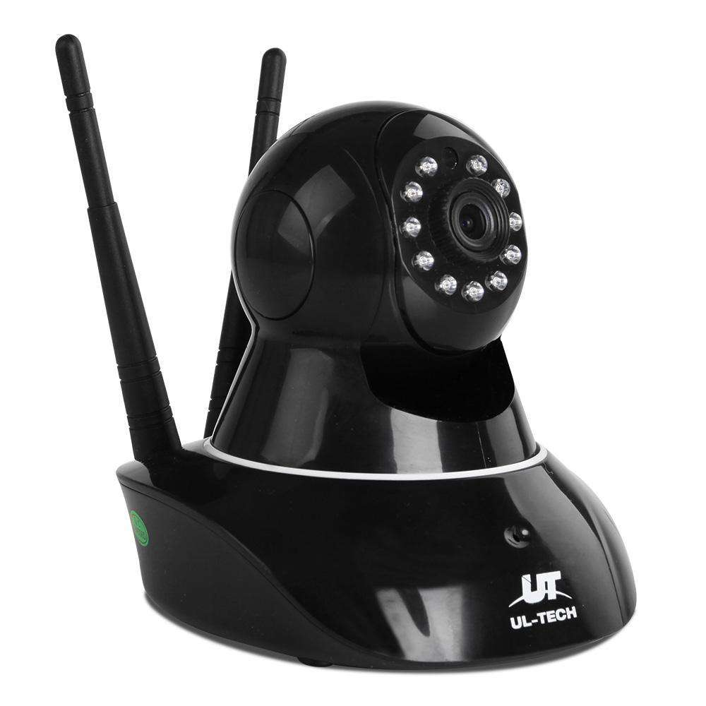 1080P Wireless IP Camera Black