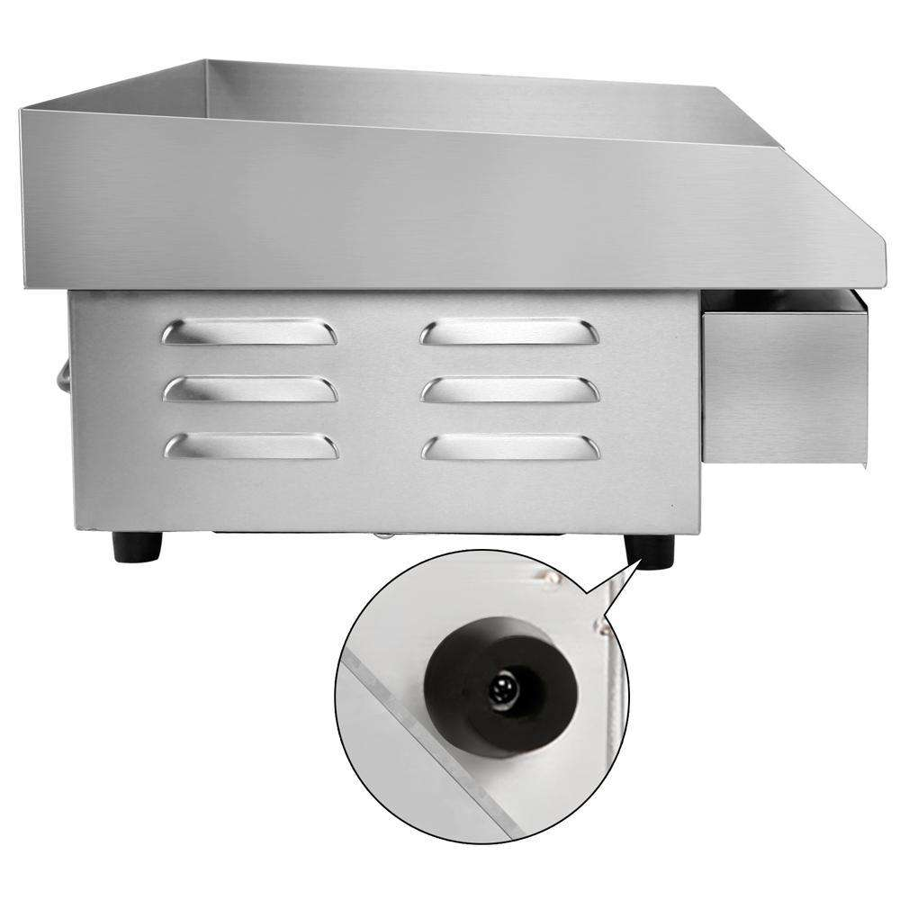 5 Star Chef 3000W Electric Griddle Hot Plate - Stainless Steel