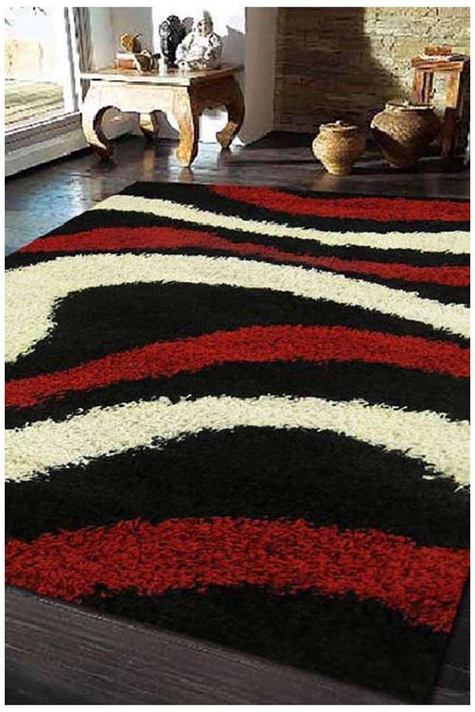 Cosmo Collection 2000 Red And Ivory Rug
