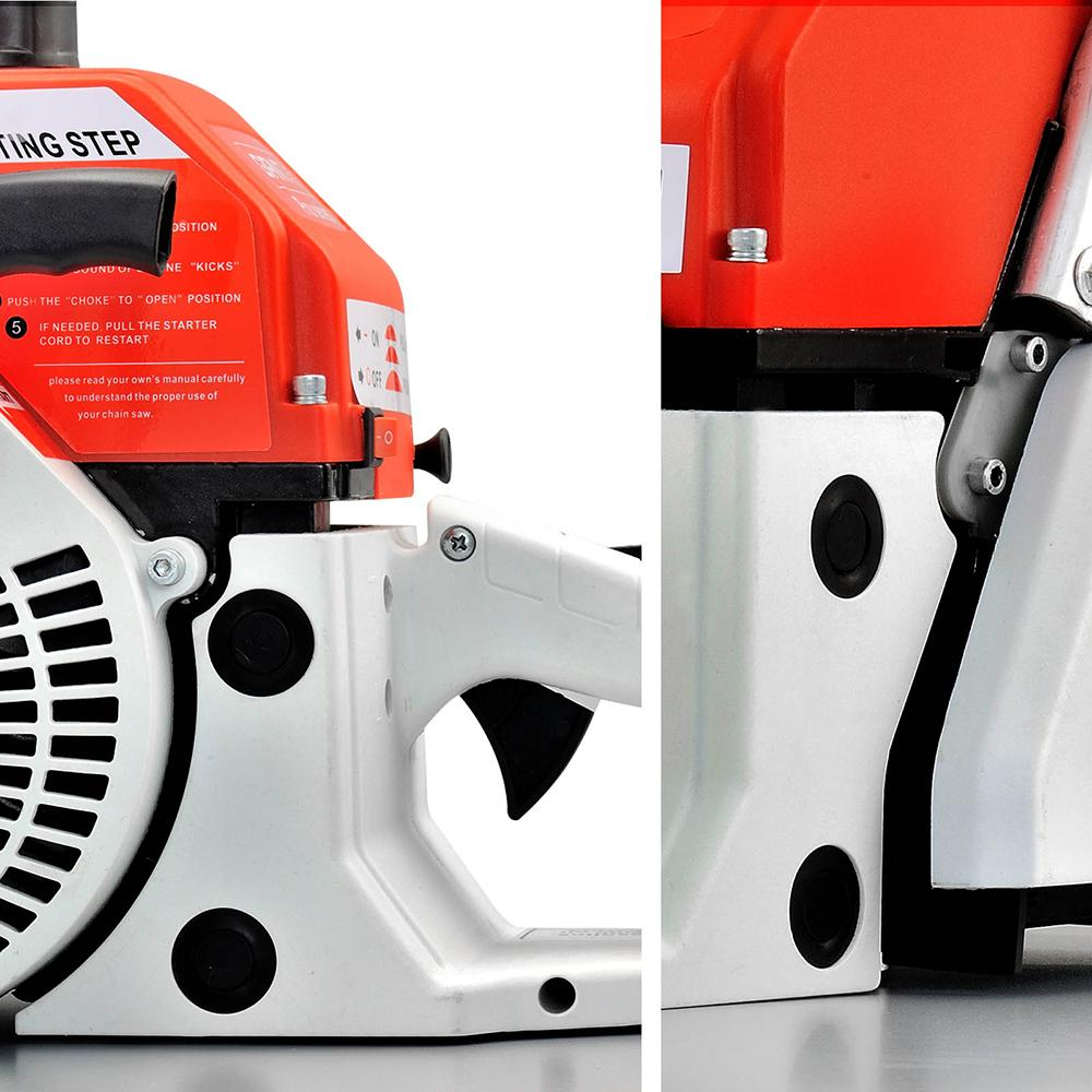Giantz 92CC Commercial Petrol Chainsaw - Red & White