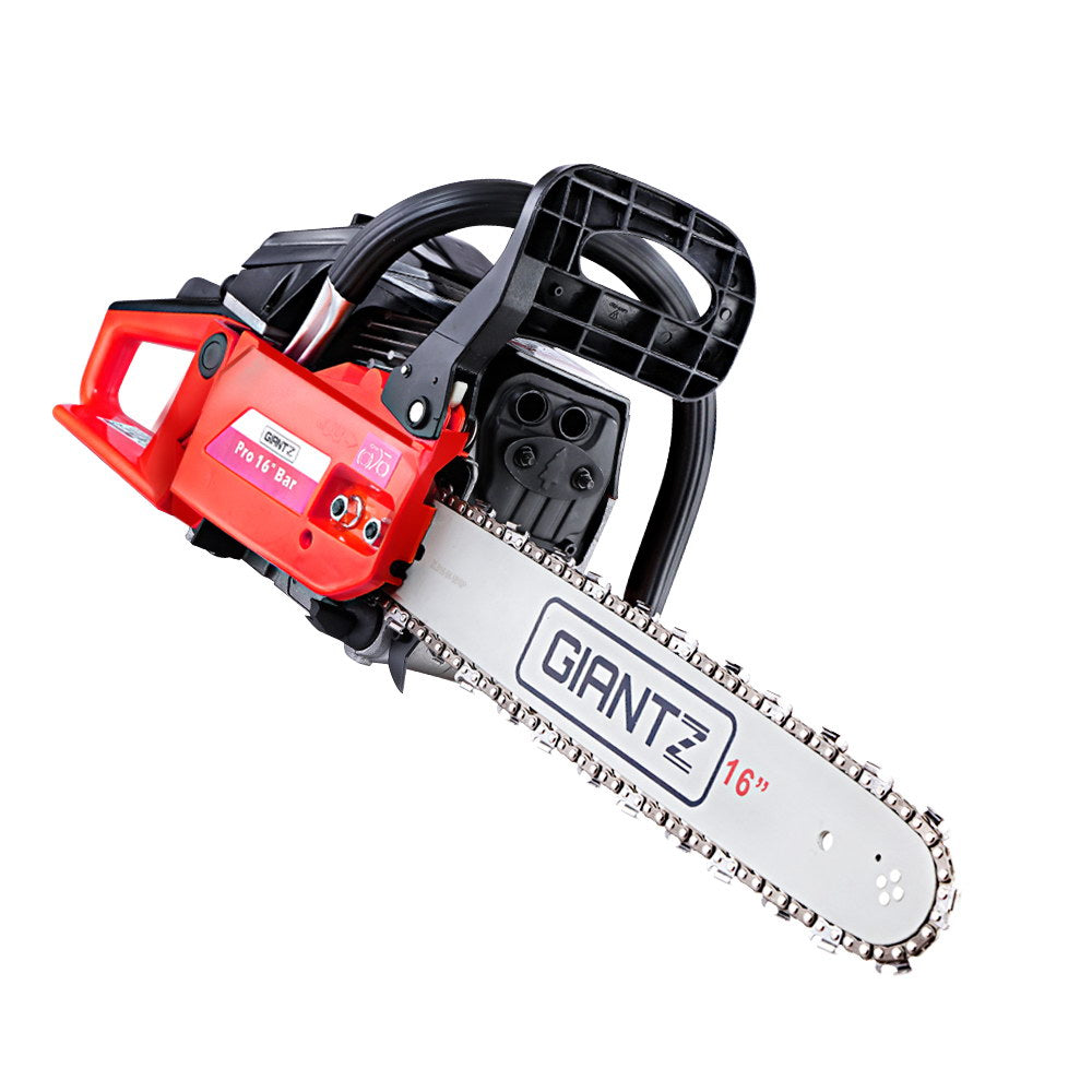 Giantz 45cc Petrol Commercial Chainsaw 20 Bar E-Start Pruning Chain Saw""