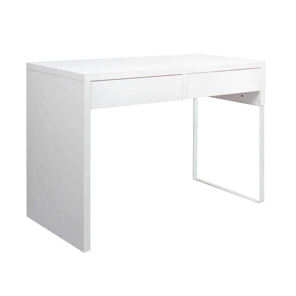 Office Computer Desk Table w/ Drawers White