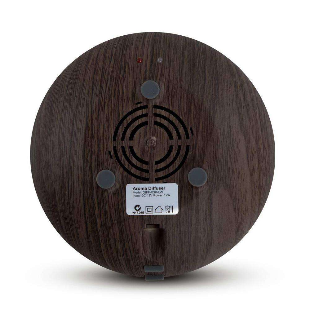 160ml 4-in-1 Aroma Diffuser Dark Wood - Desirable Home Living