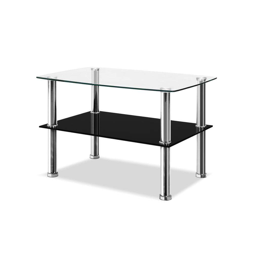 Artiss Dumor Glass Coffee Table