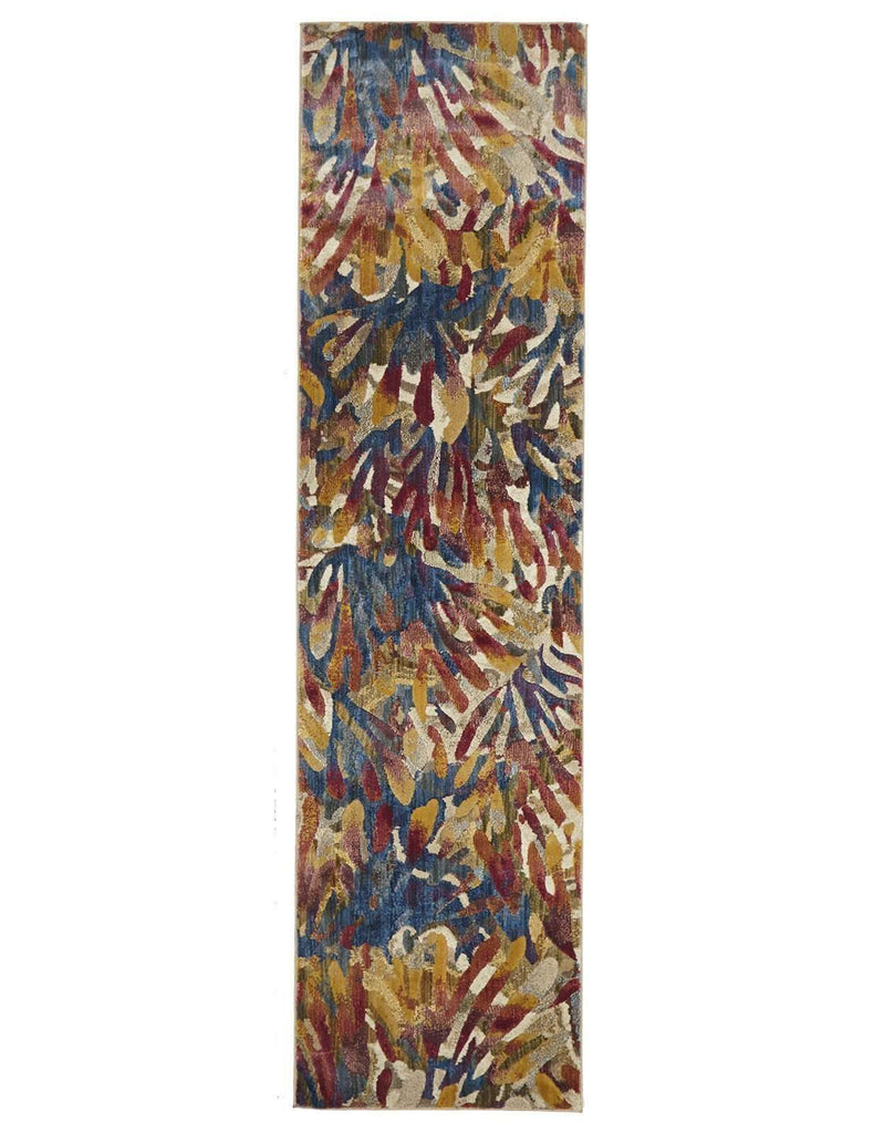 Dreamscape Memories Modern Tropical Runner Rug