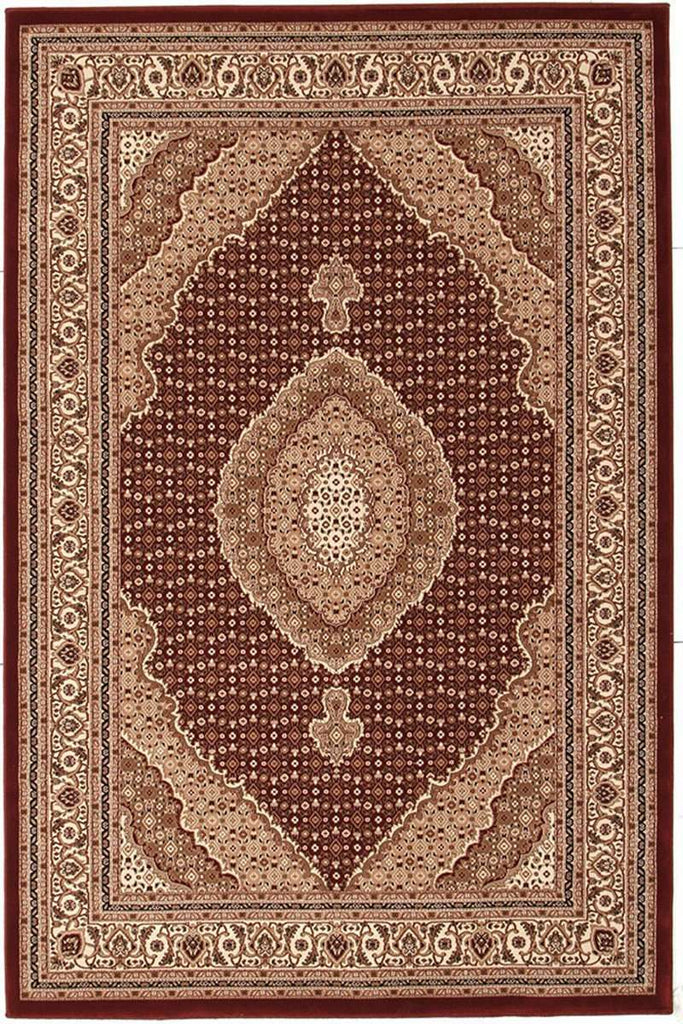 Empire Collection Stunning Formal Oriental Design Red Rug