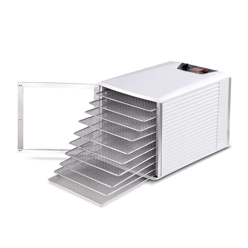 Stainless Steel 10 Tray Food Dehydrator - Desirable Home Living