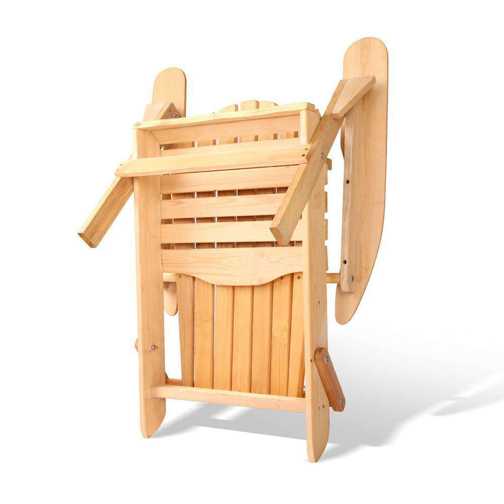 Adirondack Foldable Deck Chair - Desirable Home Living
