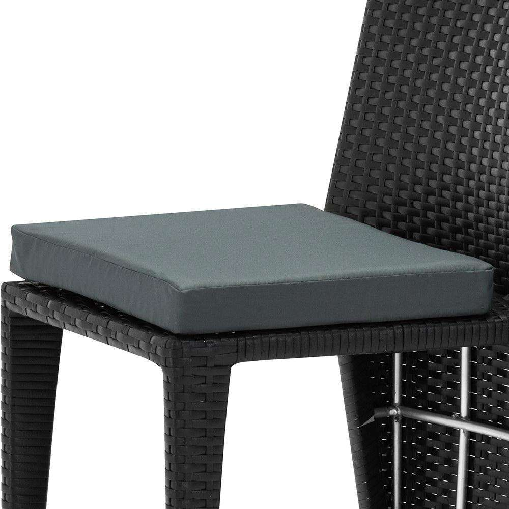 3-piece PE Wicker Outdoor Table and Chair Set - Desirable Home Living