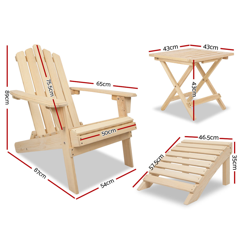 Gardeon Outdoor Chairs Lounger