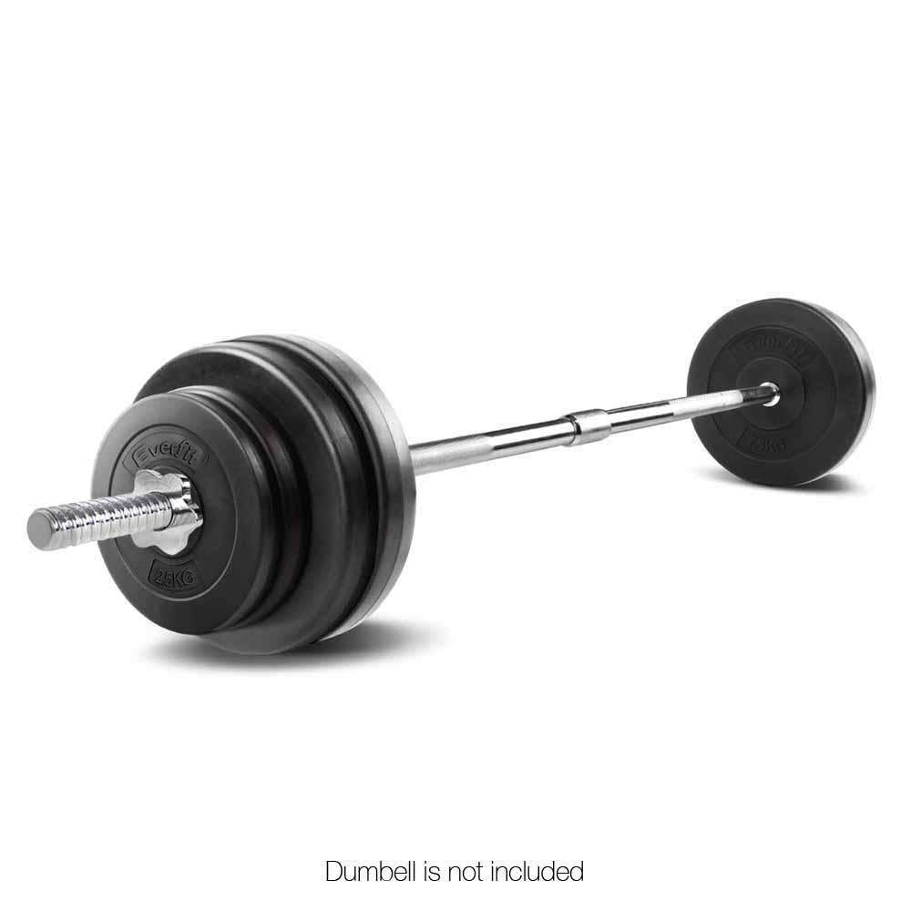168CM Steel Weight Barbell with Spring Collars - Desirable Home Living