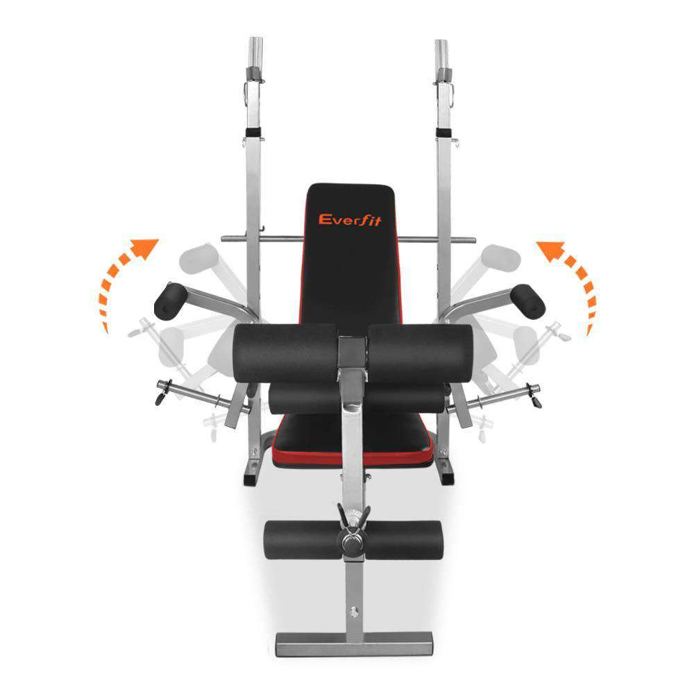 Everfit 7-In-1 Weight Bench Multi-Function Power Station Fitness Gym Equipment