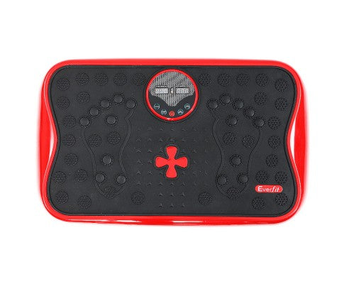 Everfit Vibration Machine Machines Platform - Red