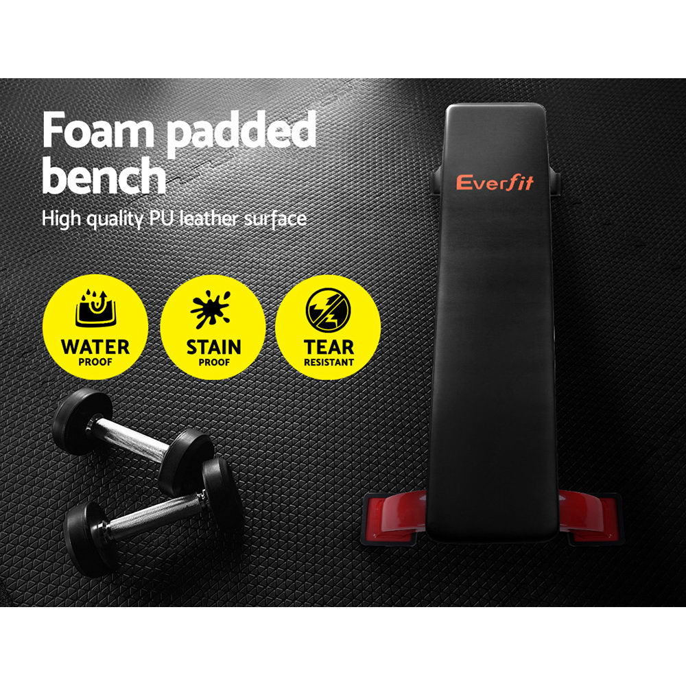 Everfit Fitness Flat Bench Weight Press