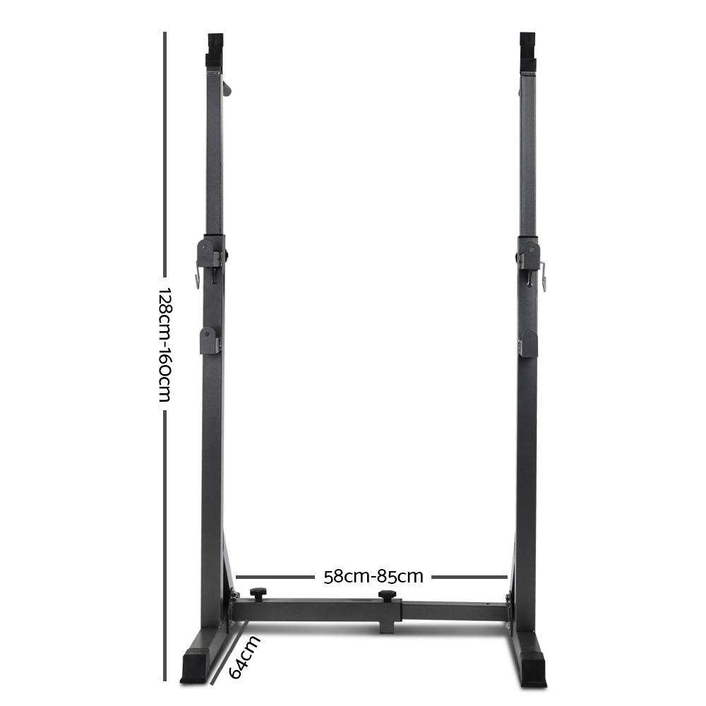 Everfit Adjustable Squat Rack
