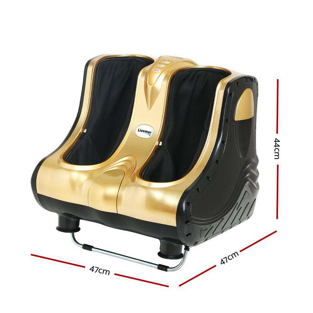 Livemor 3D Foot Massager Machine Gold