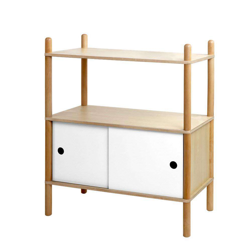 Artiss Kids Bookshelf Storage Shelf Children Cabinet Toy Rack