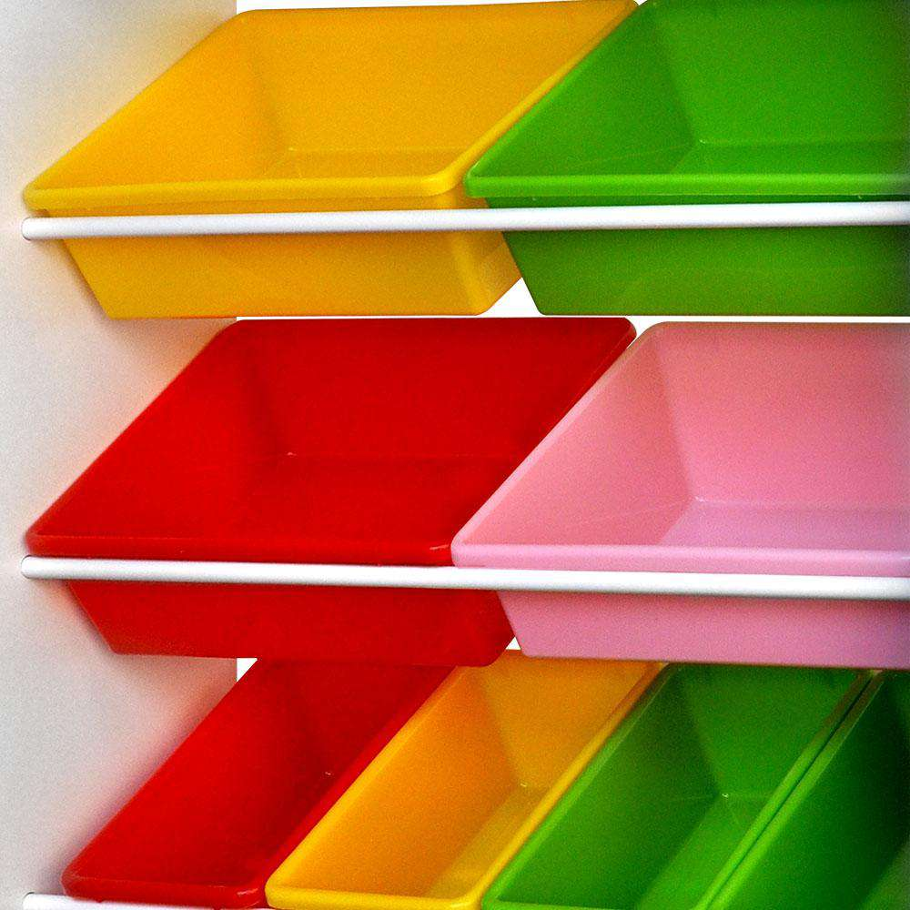 Artiss 8 Bin Toy Storage Shelf