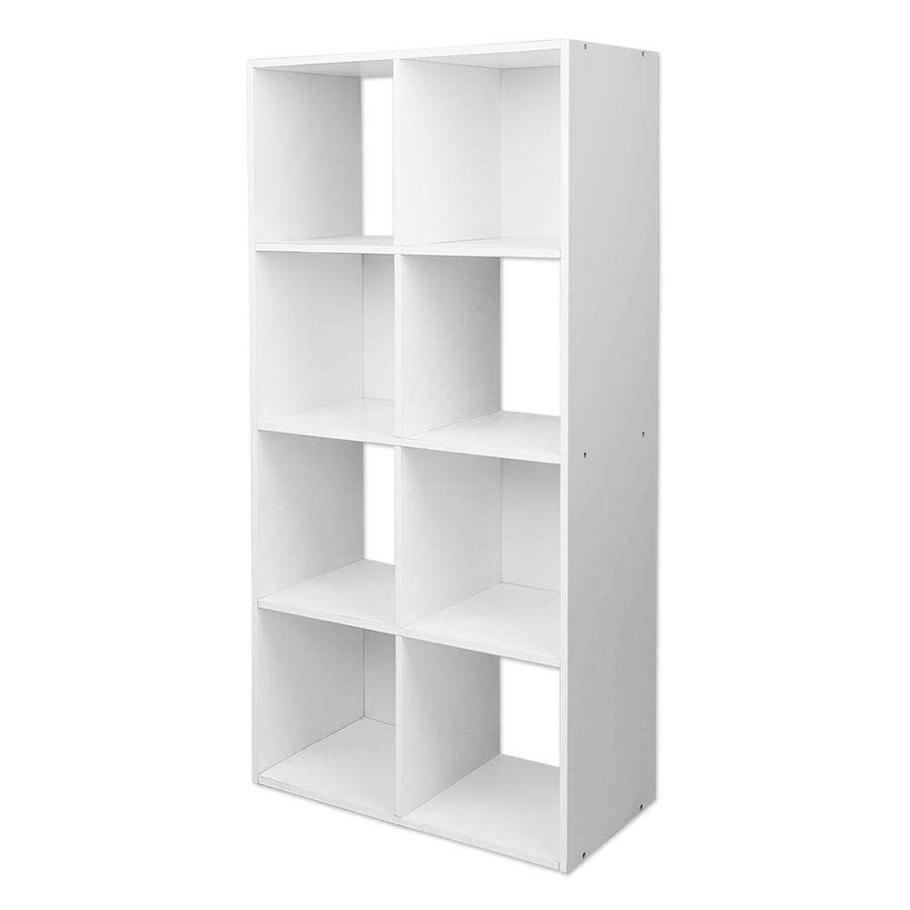 Artiss 8 Cube Display Storage Shelf - White