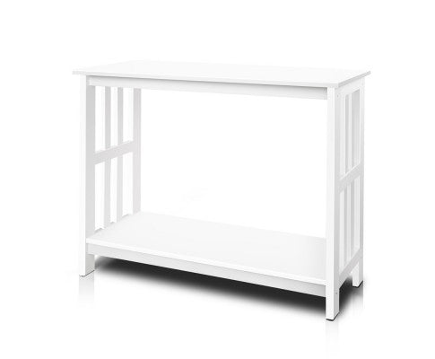 Artiss Console Table White