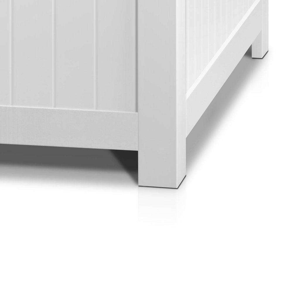 Kid's Toy Cabinet Chest White - Desirable Home Living