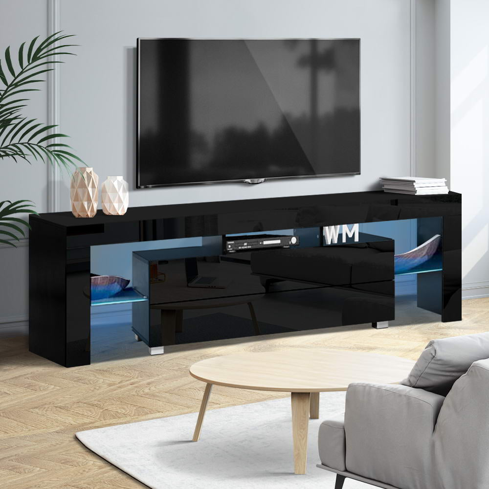 Artiss LED Entertainment Unit 160cm Black