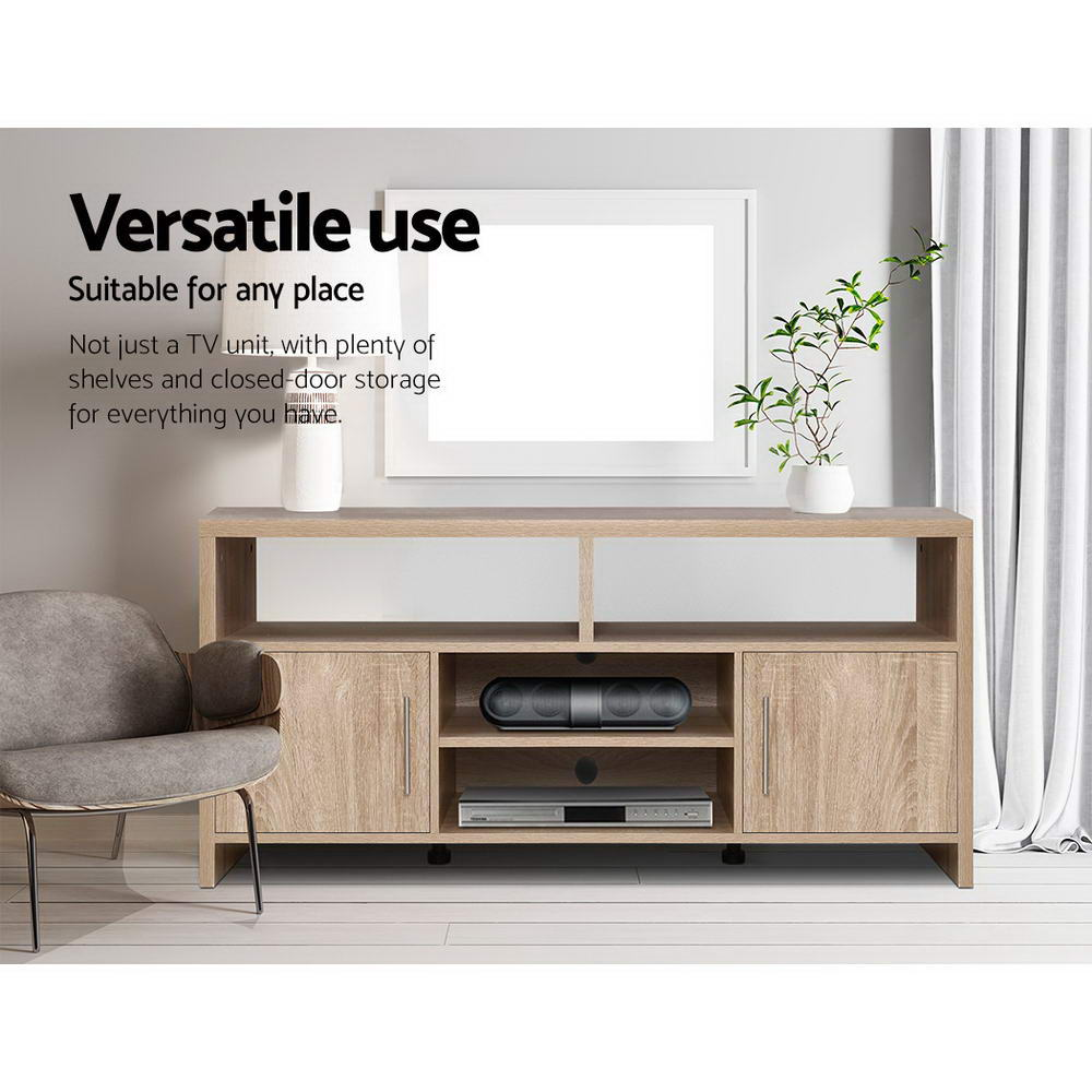 Artiss TV Entertainment Unit 140cm Oak