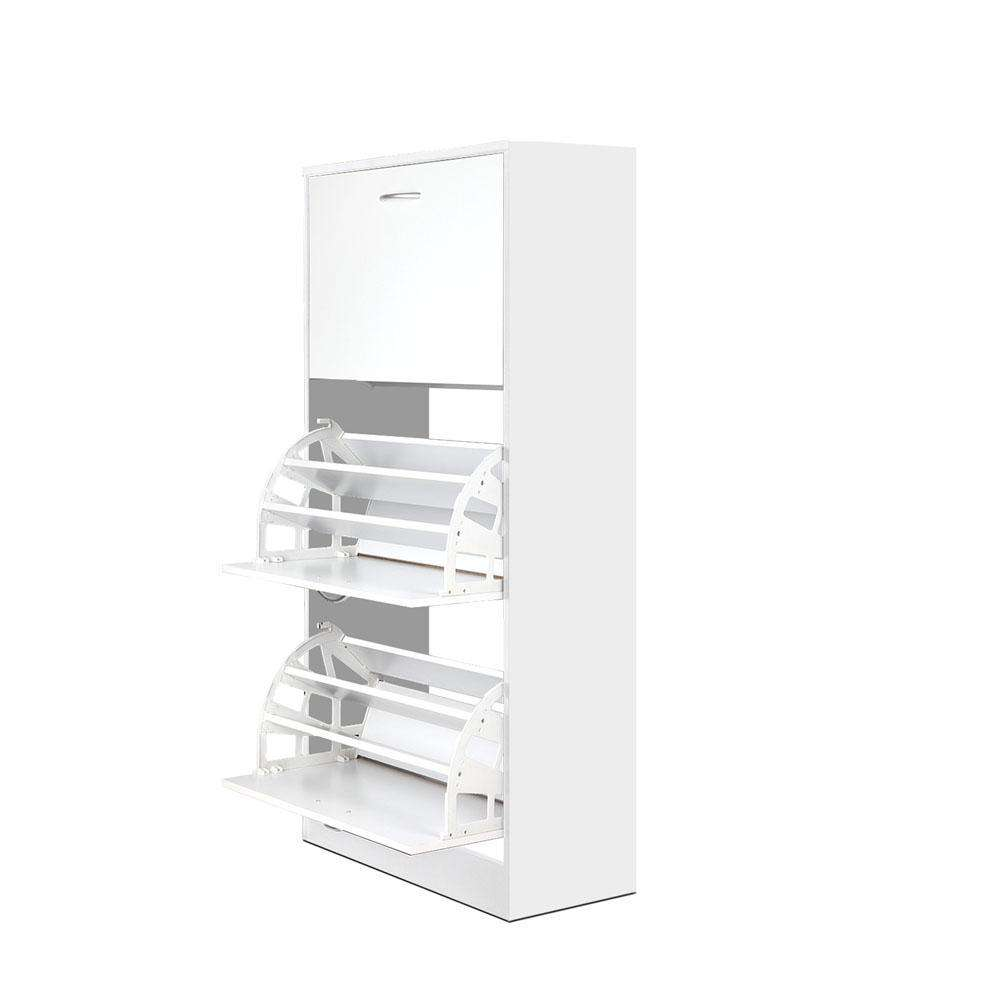 3 Tier Shoe Cabinet - 36 Pairs - Desirable Home Living