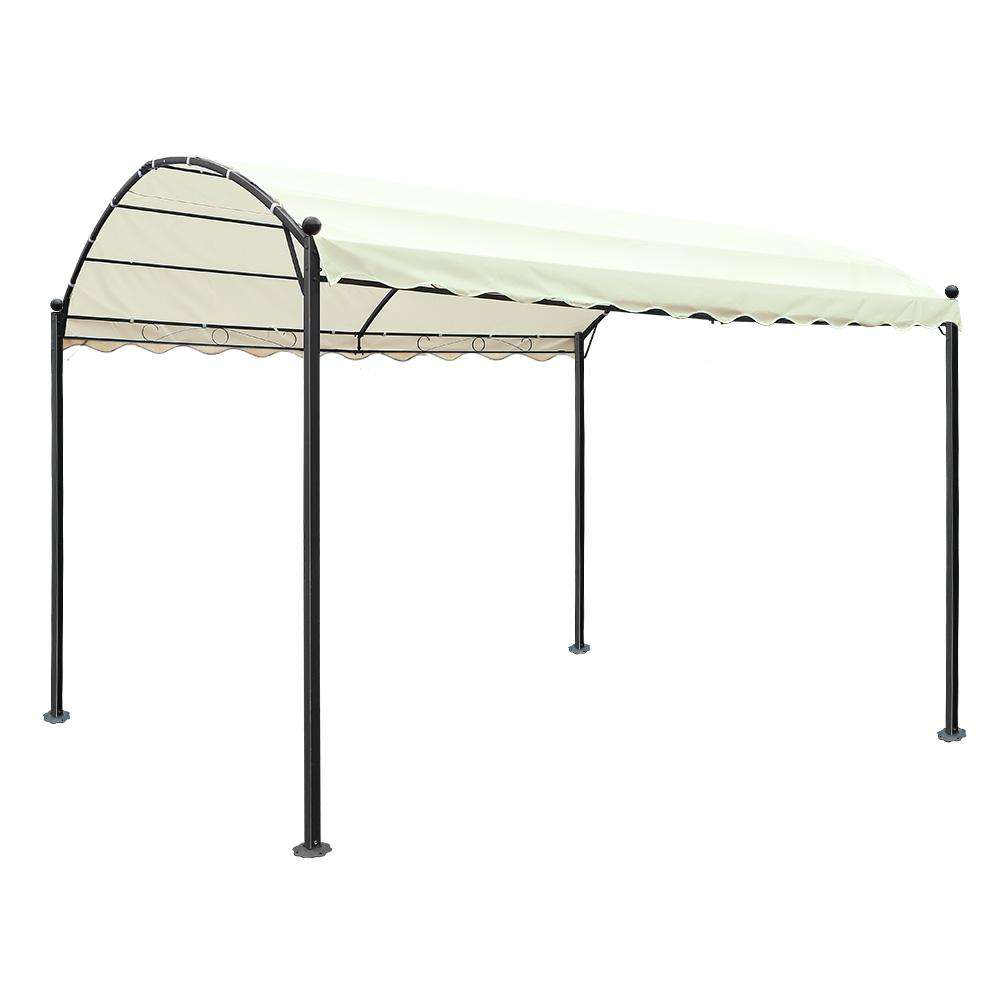 Instahut 4x3m Gazebo Party Wedding Marquee Tent Shade Iron Art Canopy Camping