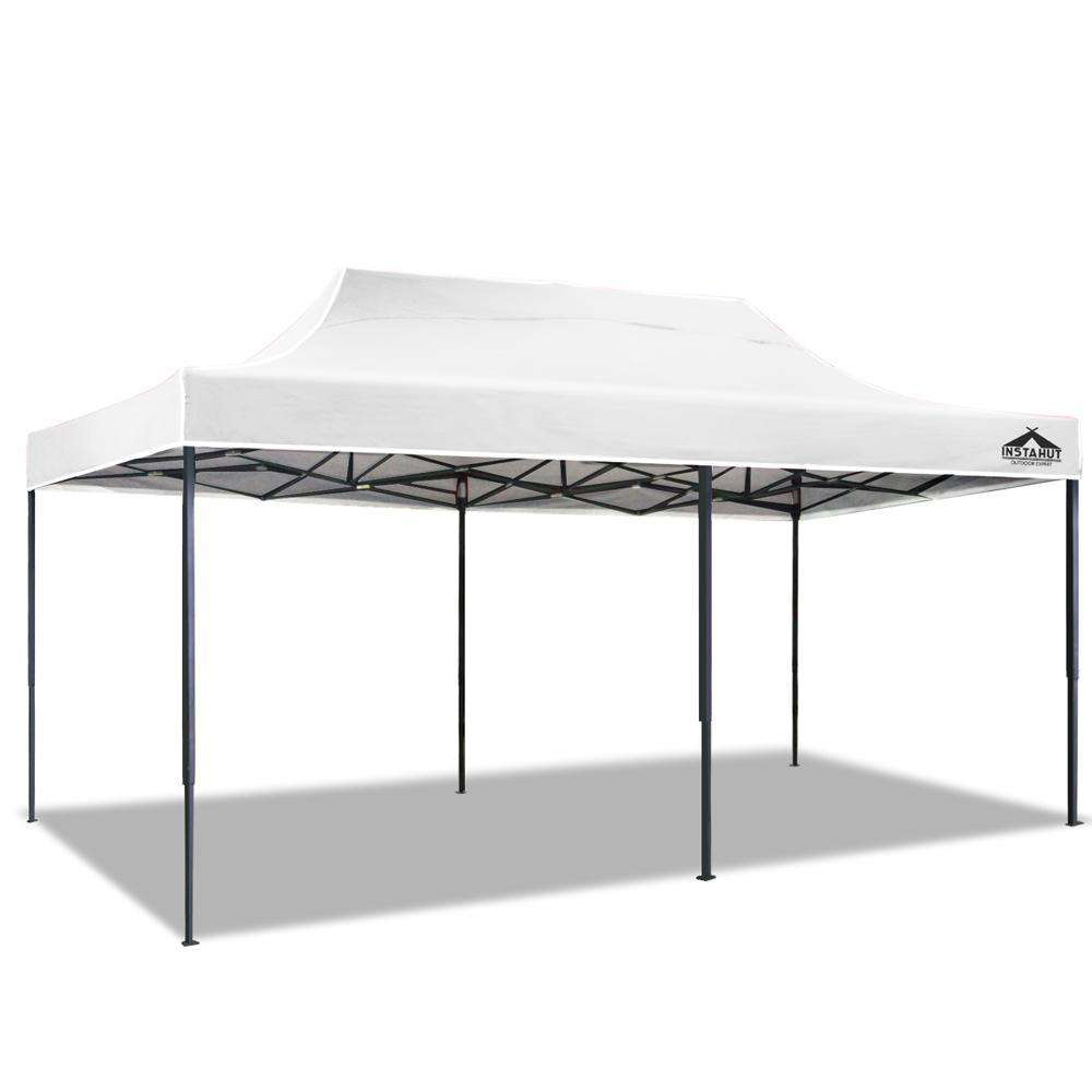 INSTAHUT 3X6M Pop Up Gazebo - White