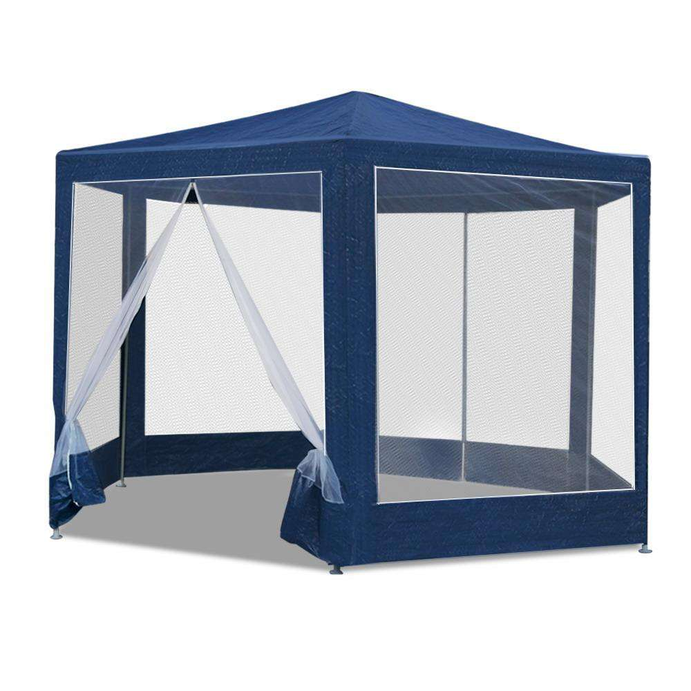 Instahut 2x2m Wedding Gazebo Outdoor Camping Navy