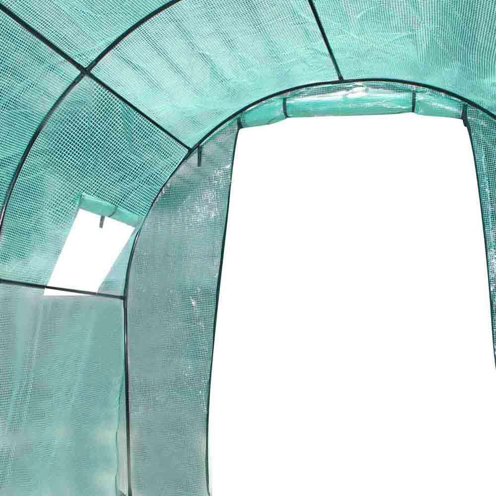 Greenhouse with Green PE Cover - 3M x 2M - Desirable Home Living