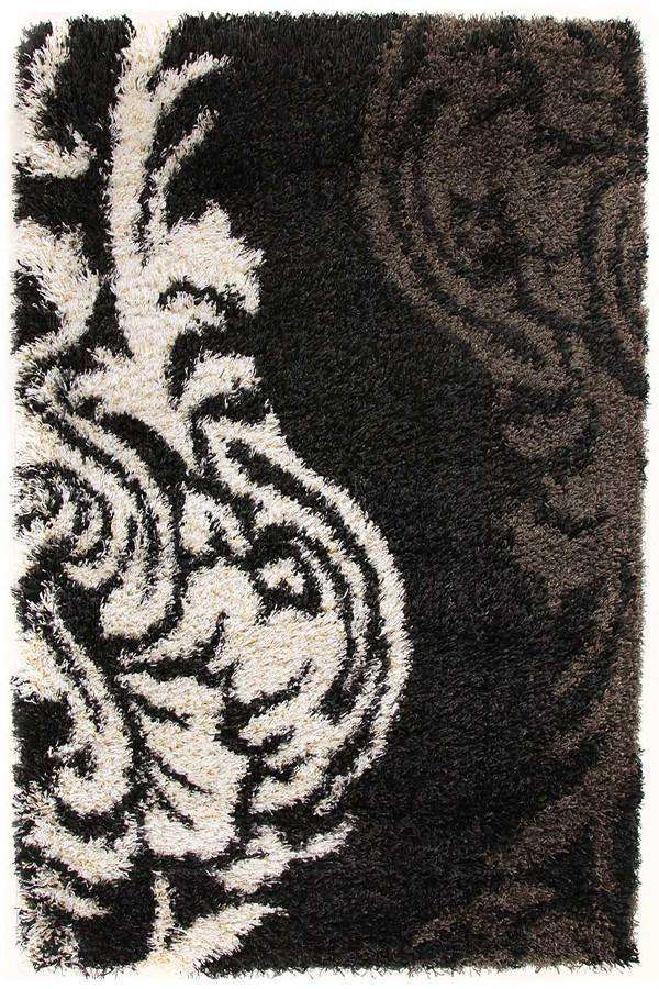 Gravity collection Ebony and Ivory Rug
