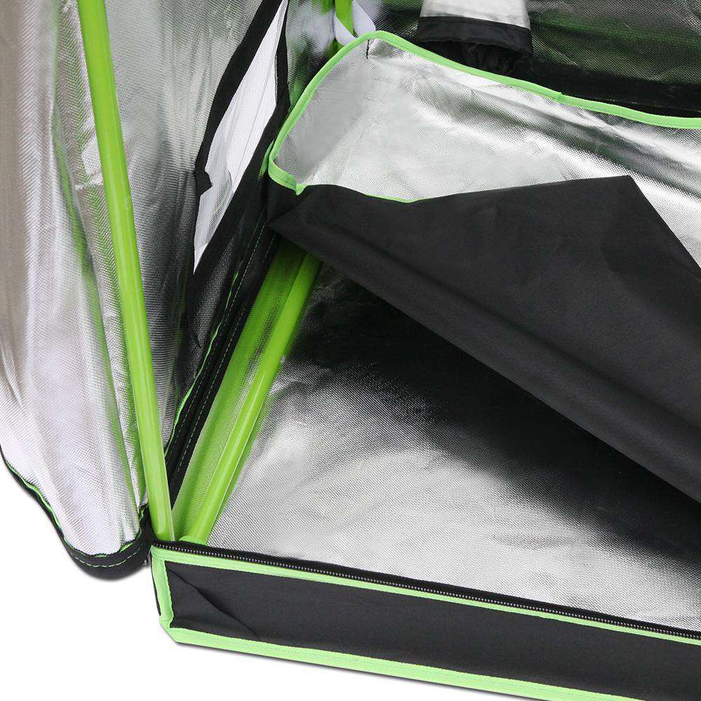 Weather Proof Lightweight Grow Tent - 100x100x200cm - Desirable Home Living