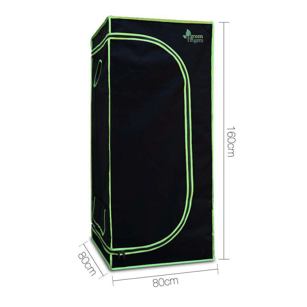 Weather Proof Lightweight Grow Tent - 80x80x160cm - Desirable Home Living