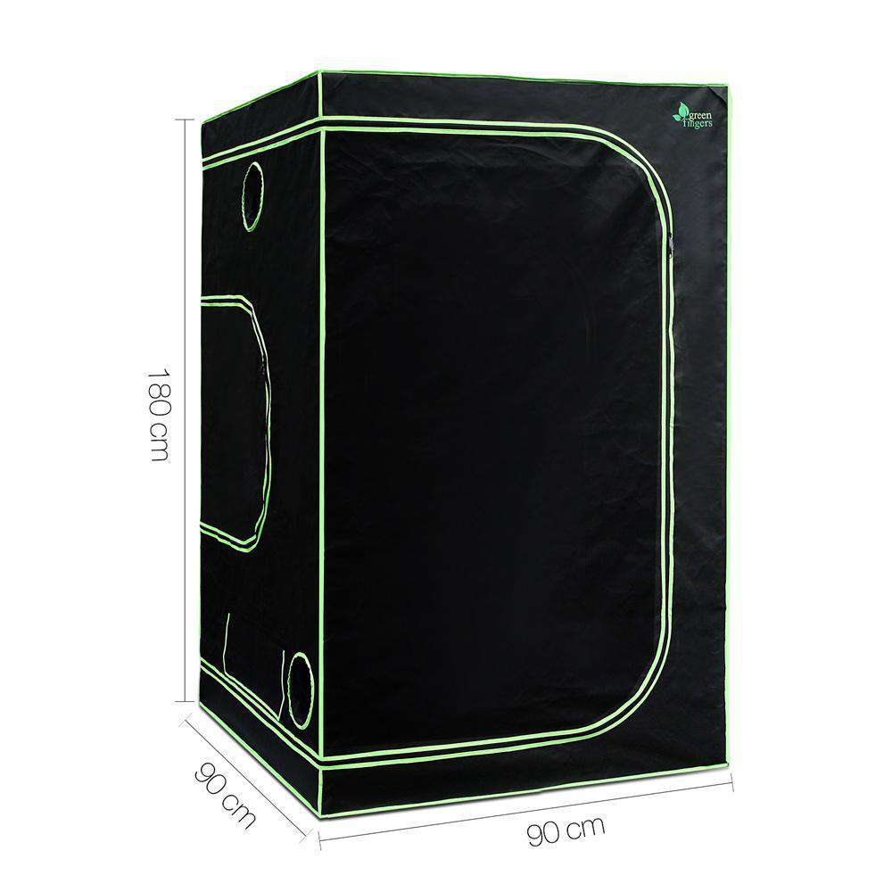Hydroponic Grow Tent - 90X90X180cm - Desirable Home Living
