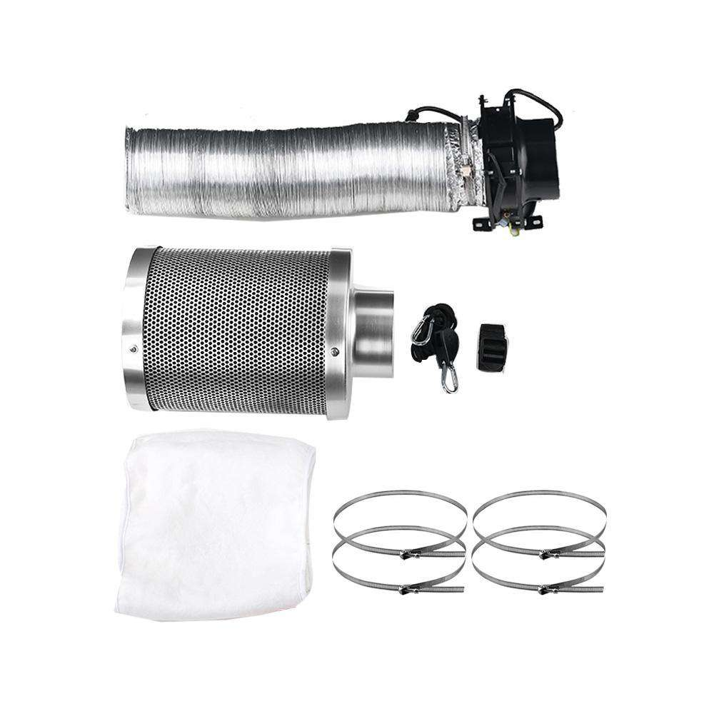 Ventilation Fan and Active Carbon Filter Ducting Kit - Desirable Home Living
