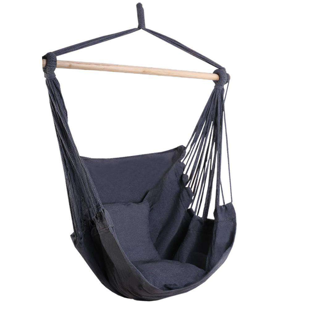 Gardeon Hammock Chair - Grey